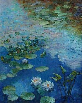 живопись картины цветы