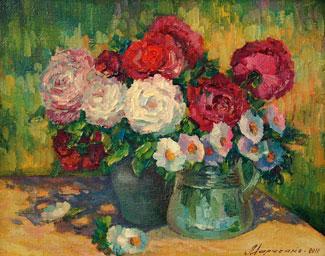 купить картину цветы