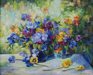 картина Цветочный вальс
